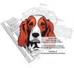 05-WC-0861 - Welsh Springer Spaniel Dog Intarsia Yard Art Woodworking Plan