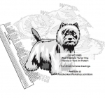 fee plans woodworking resource from WoodworkersWorkshop® Online Store - West Highland White Terrier Dogs,pets,animals,dogs,breeds,instarsia,yard art,painting wood crafts,scrollsawing patterns,drawings,plywood,plywoodworking plans,woodworkers projects,workshop blueprints