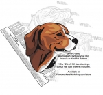 05-WC-0865 - Westphalian Dachsbracke Dog Intarsia Yard Art Woodworking Plan