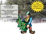 05-WC-0896 - Christmas Gnome No.23 Yard Art Woodworking Project