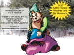 fee plans woodworking resource from WoodworkersWorkshop� Online Store - Christmas,gnomes,presents,xmas,winter,seasonal,dwarfs,elfs,elves,little people,fairies,yard art,painting wood crafts,scrollsawing patterns,drawings,plywood,plywoodworking plans,woodworkers projects,wo