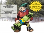 fee plans woodworking resource from WoodworkersWorkshop® Online Store - Christmas,gnomes,crackers,xmas,winter,seasonal,dwarfs,elfs,elves,little people,fairies,yard art,painting wood crafts,scrollsawing patterns,drawings,plywood,plywoodworking plans,woodworkers projects,wo