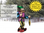 Christmas Gnome No.32 Yard Art Woodworking Project woodworking plan