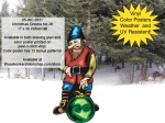Christmas Gnome No.38 Yard Art Woodworking Project woodworking plan