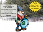 Christmas Gnome No.39 Yard Art Woodworking Project woodworking plan