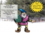 Christmas Gnome No.47 Yard Art Woodworking Project woodworking plan