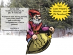Christmas Gnome No.49 Yard Art Woodworking Project woodworking plan