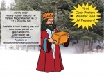 Nativity Scene - Melchior the Persian Magi - Wiseman No.1 Yard Project