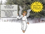 Nativity Scene - Angel Yard Art Project