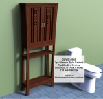 05-WC-0949 - Mission style 2pc Cabinet Woodworking Plan