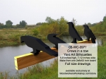 Crows in a row Yard Art Woodworking Pattern