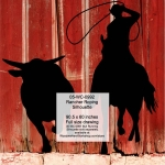Rancher Roping Silhouette Yard Art Woodworking Pattern