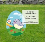 05-WC-1015 - Easter Egg Yard Art Woodworking Pattern