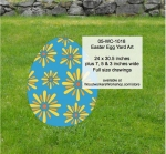 05-WC-1018 - Easter Egg Yard Art Woodworking Pattern