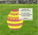 05-WC-1022 - Easter Egg Yard Art Woodworking Pattern