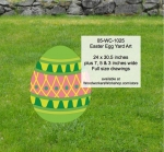 05-WC-1025 - Easter Egg Yard Art Woodworking Pattern