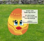05-WC-1035 - Easter Egg Yard Art Woodworking Pattern
