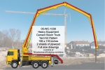 Heavy Equipment Cement Boom Truck Yard Art Woodworking Plan