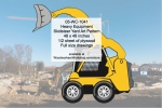 Heavy Equipment Skidsteer Wheel Loader Yard Art Woodworking Pattern