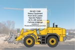 05-WC-1046 - Heavy Equipment Front End Loader Yard Art Woodworking Pattern