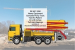 Heavy Equipment Concrete Truck Yard Art Woodworking Pattern