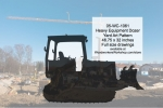 05-WC-1061 - Heavy Equipment Dozer Woodworking Pattern