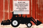 05-WC-1089 - Heavy Equipment Farm Tractor Yard Art Woodworking Pattern