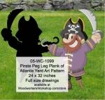 fee plans woodworking resource from WoodworkersWorkshop� Online Store - pirates,childrens,kids,swords,childs,buchaneers,Halloween,yard art,painting wood crafts,jigsawing patterns,drawings,jig sawing plywood,plywoodworking plans,woodworkers projects,workshop blueprints