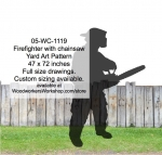 fee plans woodworking resource from WoodworkersWorkshop® Online Store - firefighters,chainsaws,firefighting,yard art,painting wood crafts,scrollsawing patterns,drawings,plywood,plywoodworking plans,woodworkers projects,workshop blueprints