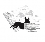 English Toy Terrier Dog Silhouette Yard Art Woodworking Plans Set of 3