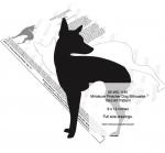 Miniature Pinscher Dog Silhouette Yard Art Woodworking Pattern
