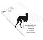Greyhound Dog Silhouette Yard Art Woodworking Pattern