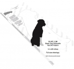05-WC-1188 - Boxer Dog Silhouette Yard Art Woodworking Plan