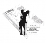 Chinese Crested Dog Silhouette Yard Art Woodworking Plan