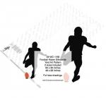 Football Kicker Silhouette Yard Art Woodworking Pattern