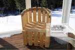 Lobster Trap Chair Woodworking Pattern, lobster trap chairs,marine,nautical,yard art,plywood,plywoodworking plans,woodworkers projects,workshop blueprints