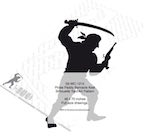 05-WC-1213 - Pirate Paddy Barnacle Keel Silhouette Woodworking Pattern