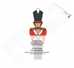 Toy Soldier 4 ft tall Yard Art Woodworking Pattern woodworking plan