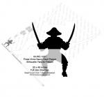 Pirate Vince Saucy Devil Pepper Shadow Yard Art Woodworking Pattern