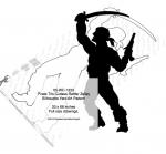 Pirate Tris Cutlass-Rattler Zelley Shadow Yard Art Woodworking Pattern
