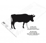 05-WC-1247 - Cow with Horns Yard Art Woodworking Pattern