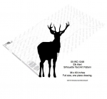 05-WC-1248 - Elk alert Yard Art Full Size Woodworking Pattern