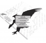 05-WC-1261 - Turkey Vulture Silhouette Yard Art Woodworking Pattern
