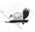 Southern Ground Hornbill Silhouette Yard Art Woodworking Pattern