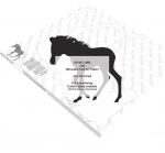Colt Silhouette Yard Art Woodworking Pattern