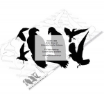 05-WC-1283 - Birds Group of Silhouettes Yard Art Woodworking Pattern
