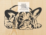 Bulldog Pup Scrollsaw Woodworking Pattern