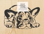 Bulldog Pup Scrollsaw Woodworking Pattern woodworking plan