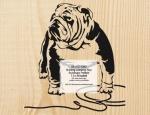 Bulldog Jumping Rope Scrollsaw Woodcraft Pattern woodworking plan