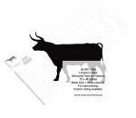 Longhorn Steer Silhouettes Yard Art Woodworking Pattern, cowboys,western,rodeos,bronc riding,yard art,painting wood crafts,scrollsawing patterns,drawings,plywood,plywoodworking plans,woodworkers projects,workshop blueprints